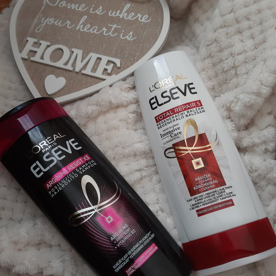 îngrijirea părului cu Elseve